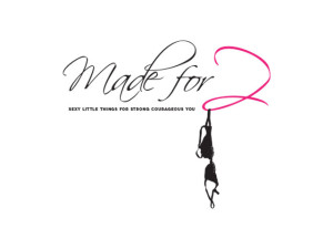 Made for Two logo. A company which creates sexy and comfortable mastectomy bras.