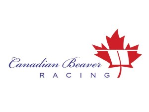 Canadian Beaver logo. A group who manages race horses.
