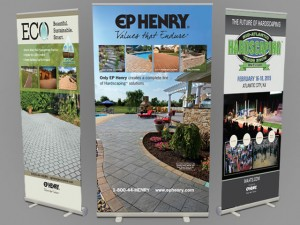 Pull up banners, custom pull up banners, image manipulation